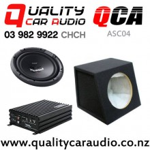 QCA-ASC04 Soundmagus DK600 Amplifier SONY XS-NW1201 QCA-SB012 Subwoofer Box with Easy Finance