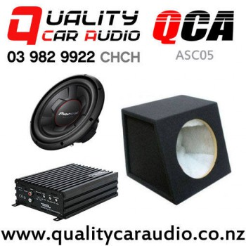 QCA-ASC05 Sound Magus DK600 Pioneer TS-W306R QCA-SB012 Combo Deal with Easy Finance