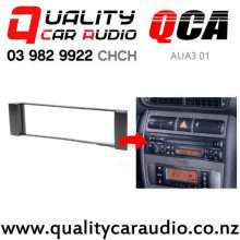 QCA-AUA3 01 Single Din Stereo Facial Kit for Audi A3 A6 from 2000 to 2005 with Easy Payments