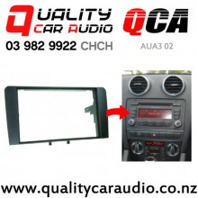 QCA AUA3 02 Stereo Facial Kit for Audi A3 Symphony from 2004 to 2009 (Needs Sleeve/ cage) with Easy Payments