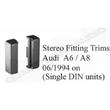 Audi A6 / A8 Stereo Fitting Trims (Single DIN)
