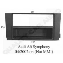QCA FP-05-06 Audi A6 2002 ON Symphony Fitting Kits for Single / Double Din