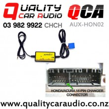 QCA AUX-HON02 Aux Input Module for Honda 1998 to 2005 with Easy Finance