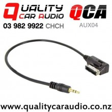 QCA-AUX04 AMI MMI interface to 3.5mm Aux  Cable for VW Audi (30CM) with Easy Finance