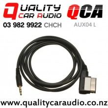 QCA-AUX04 L AMI MMI interface to 3.5mm Aux Cable for VW Audi (1.5m) with Easy Finance
