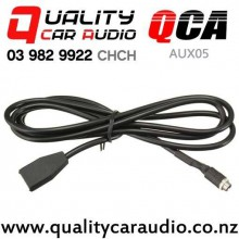 QCA-AUX05 Aux Input with 3.5mm Mountable Female Socket for BMW E46 2002 to 2006 with Easy Finance