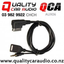 QCA-AUX06 AMI MMI interface to 3.5mm Aux and USB Cable for Audi with Easy Finance