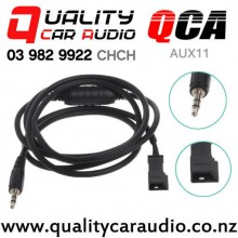 QCA-AUX11 3 Pin 3.5mm AUX Adapter for BMW E46 E39 E53 with Easy Finance