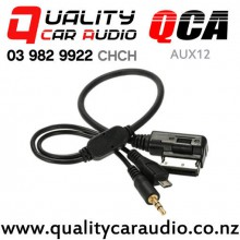 QCA-AUX12 AMI MMI interface to 3.5mm Aux and Micro USB for Volkswagen and Audi with Easy Finance