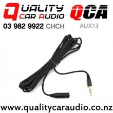 QCA-AUX13 3.5mm Female to Male Aux Extension Cable (1.5m) with Easy Finance