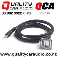QCA-AUX16 3.5mm Aux Input Cable for Hond CRV Civic Accord (1.5m) with Easy Payments