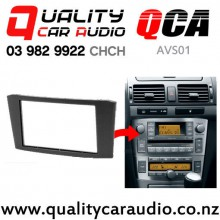 QCA-AVS01 Double Din Stereo Facial Kit for Toyota Avensis from 2002 to 2008 with Easy Finance