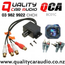 QCA-BC01C Vehicle Amplifier Bass Level Control Knob + 2.5m Aerpro RCA Lead with Easy Finance