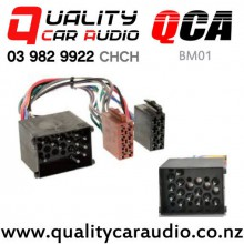QCA-BM01 BMW to ISO Wiring Harness from 1990 to 2002 with Easy Finance