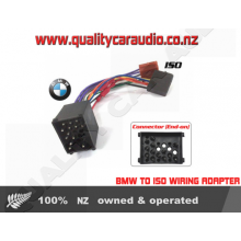 QCA-BM01 ISO 1990 - 2002 BMW TO ISO WIRING HARNESS with Easy Layby
