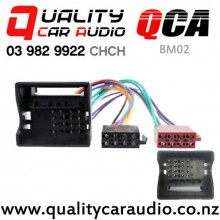 QCA-BM02 BMW to ISO Wiring Harness from 2001 on with Easy Finance