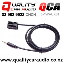 QCA-BMWAUX01 Auxiliary Input Cable for BMW 2003 to 2010 with Easy Finance