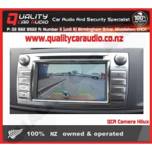 Toyota Hilux 2006 - 2015 Reverse Camera Integration Fitted