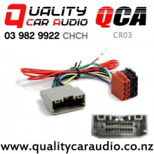QCA-CR03 Chrysler/Dodge/Jeep to ISO Wiring Adapter from 2007 on with Easy Finance