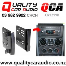QCA-CR1291B  Double Din Stereo Facial Kit for Jeep Wrangler Chrysler 2007 on with Easy Finance