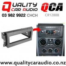 QCA-CR1288B Single Din Stereo Facial Kit for Jeep Wrangler and Chrysler 300 2007 up with Easy Finance
