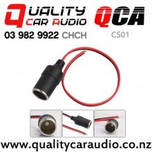 QCA-CS01 12V Car Cigarette Lighter Charger Female Socket with Easy Finance