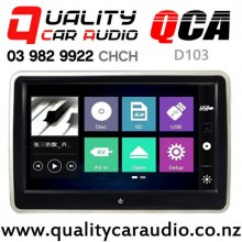"QCA-D103 10.1"" Headrest DVD with Digital Screen with Easy Finance"