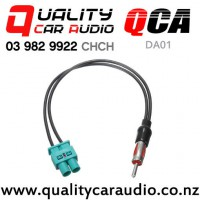 QCA-DA01 Dual Fakra to Standard Male Aerial Adapter with Easy Finance