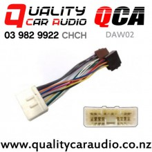 QCA-DAW02 Daewoo to ISO Wiring Harness From 2002 on with Easy Finance