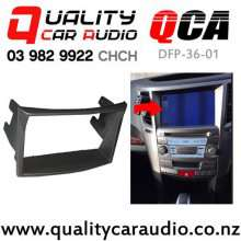 QCA DFP-36-01 Subaru Legacy / Outback 2010 on Double Din Stereo Fitting Kit with Easy Finance