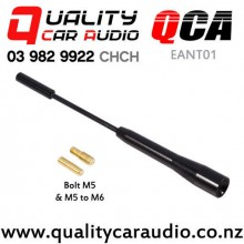 QCA-EANT01 Three Section Extendable External Car Aerial (Black) with Easy Finance