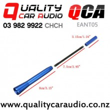 QCA-EANT05 Three Section Extendable External Car Aerial (Blue) with Easy Finance