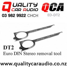 QCA ED-DT2 Euro Din Stereo Removal Tool (pair) with Easy Finance