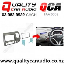 QCA-FAA 0003 Double Din Stereo Facial Kit for Honda Civic 2006 to 2010 with Easy Finance