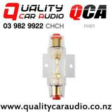 QCA-FH01 Fuse Holder 4GA/8GA in/out with 60A Fuse with Easy Payments