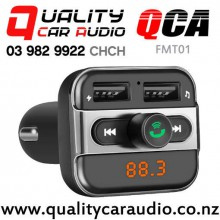 QCA-FMT01 Bluetooth USB wireless FM Transmitter with Easy Finance