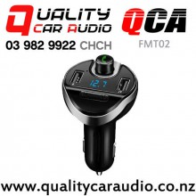 QCA-FMT02 Bluetooth USB wireless FM Transmitter with Easy Finance