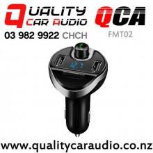 QCA-FMT02 Bluetooth USB wireless FM Transmitter with Easy Finance