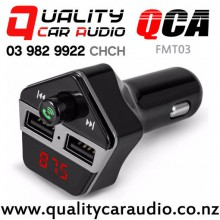 QCA-FMT03 Bluetooth USB wireless FM Transmitter with Easy Finance