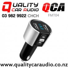 QCA-FMT04 Bluetooth USB wireless FM Transmitter with Easy Finance