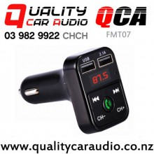 QCA-FMT07 Bluetooth USB Wireless FM Transmitter with Easy Payments