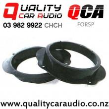 "QCA-FORSP 6"" / 6.5"" Ford OEM Front Door Plastic Speaker Adapters (Pair)"