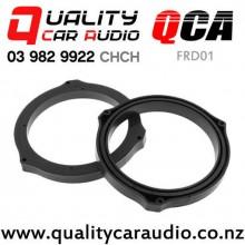 """QCA-FRD01 6""""/ 6.5"""" Ford OEM Plastic Rear Door Speaker Spacers (pair) with Easy Finance"""