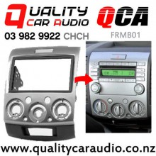 QCA-FRMB01 Stereo Facial Kit for Ford Ranger / Everest Mazda BT-50 from 2006 to 2013 (Silver) with Easy Payments