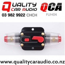 QCA-FUH04 60A Fuse Holder with Circuit Breaker for Car Amplifier with Easy Finance