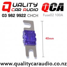 QCA-Fuse02 Plated Stud Fuse 100A with Easy Payments