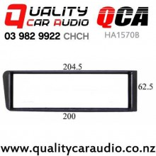 QCA-HA1570B Single Din Stereo Fitting kit for Honda Civic 1996 to 1998 with Easy Finance