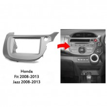 QCA 11-220 Double Din Stereo Facial Kit for Honda Fit 2008 to 2013 with Easy Finance