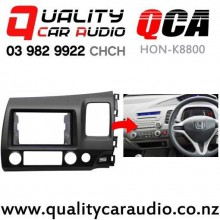 QCA HON-K8800 Double Din Stereo Facial Kit for Honda Civic 2006 - 2010 with Easy Finance
