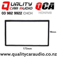 QCA-HONFMB Stereo Fitting Frame for Honda 173mm x 98mm (black) with Easy Finance
